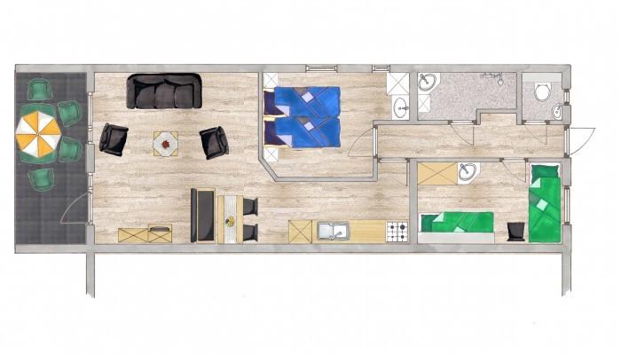 overnachten_zuid_limburg_panoorama_noorbeek_appartement_type_2a